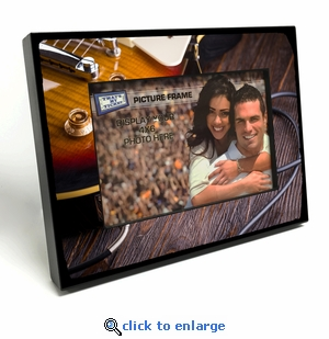 Electric Guitar 4x6 inch Table Top Picture Frame