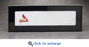 Elite Single Full Size Pitching Rubber Acrylic Display Case
