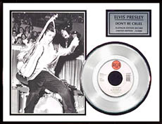 Elvis Presley - Don't Be Cruel Framed Platinum Edition Record, LE 5,000