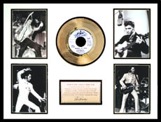 Elvis Presley - Follow That Dream Framed Gold Record