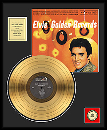Elvis Presley - Golden Records Vol 1 Framed Gold Record