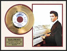 Elvis Presley - How Great Thou Art Framed Gold Record, LE 5,000