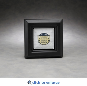 Executive Micro Mini Base Acrylic Front Display Case with Formed Back