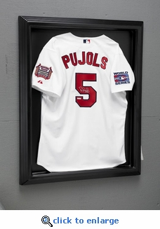 Executive Single Jersey Acrylic Front Display Case with Formed Back