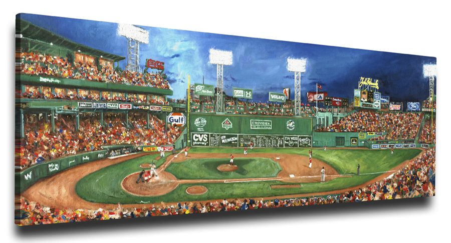 Fenway Park - Tradition Lives Here - 12x18 Art Reproduction on ...