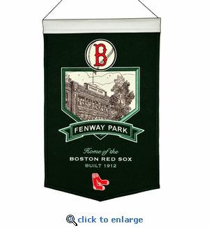 Fenway Park Wool Banner (20 x 15) - Boston Red Sox