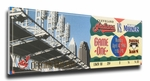 Cleveland Indians 1994 Opening Day / First Game at Jacobs Field Canvas Mega Ticket