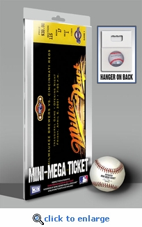 First Game at Miller Park Mini-Mega Ticket - Milwaukee Brewers