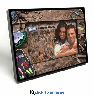 Fishing Lures 4x6 inch Table Top Picture Frame