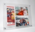 10x12 Acrylic Floating Ticket Collage Stand