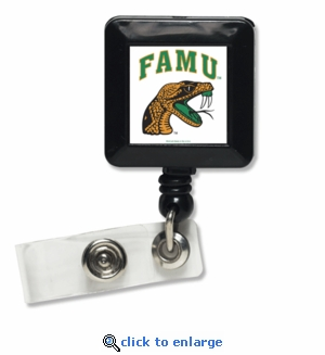 Florida A & M Rattlers Retractable Ticket Badge Holder