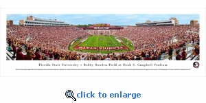 Florida State Seminoles Football - End Zone - Panoramic Photo (13.5 x 40)