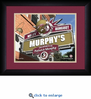 Florida State Seminoles Personalized Sports Room / Pub Print