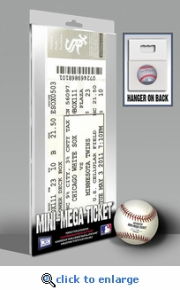 Francisco Liriano 5/3/11 No Hitter Mini-Mega Ticket - Minnesota Twins