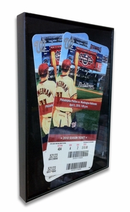 Front Loading 5x7 Ticket Frame