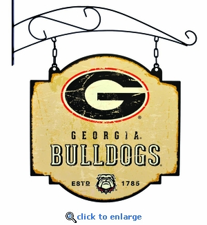Georgia Bulldogs 16 X 16 Metal Tavern / Pub Sign