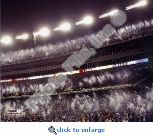Gillette Stadium Snow 12/7/03 8x10 Photo