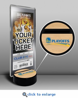 Golden State Warriors 2015 NBA Playoffs Ticket Stand
