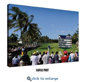 Golf Leaderboard Personalized Print