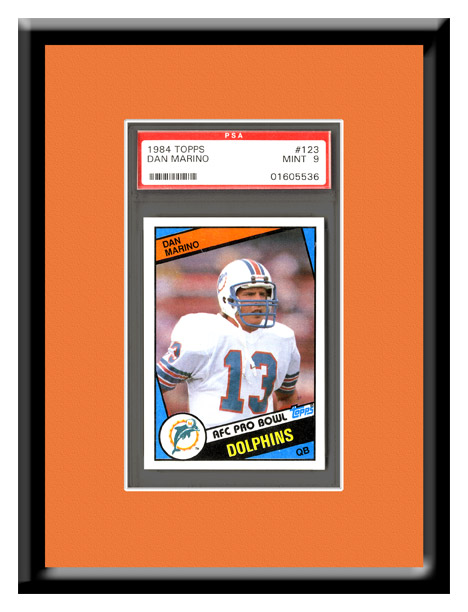 Graded Ticket/Trading Card Frame