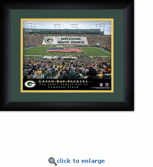 Green Bay Packers Personalized Lambeau Field Print