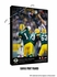 Green Bay Packers Personalized Quarterback Action Print