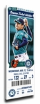 Hisashi Iwakuma No-Hitter (8/12/15) Canvas Mega Ticket - Mariners