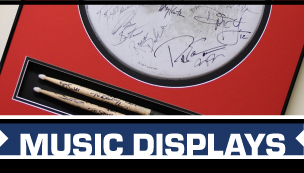 Display Your Concert and Music Memorabilia