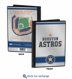 Houston Astros 4x6 Mini Photo Album
