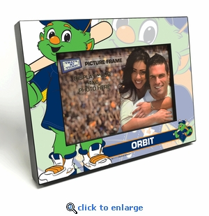 Houston Astros Mascot 4x6 Picture Frame - Orbit