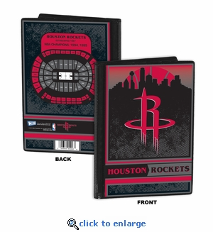 Houston Rockets 4x6 Photo Album / Brag Book