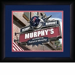 Houston Texans Personalized Sports Room / Pub Print