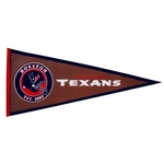Houston Texans Pigskin Pennant (13 x 32)