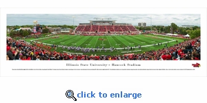 Illinois State Redbirds Football - Panoramic Photo (13.5 x 40)