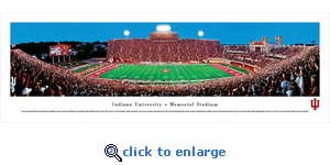Indiana Hoosiers Football - Panoramic Photo (13.5 x 40)
