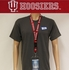 Indiana Hoosiers NCAA Lanyard with Ticket Holder