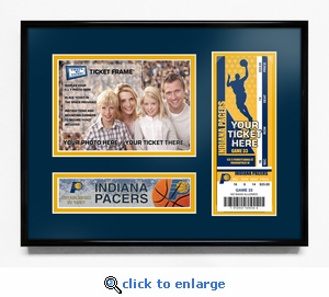 Indiana Pacers 5x7 Photo Ticket Frame