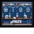 Indianapolis Colts Personalized Locker Room Print