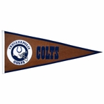 Indianapolis Colts Pigskin Pennant (13 x 32)