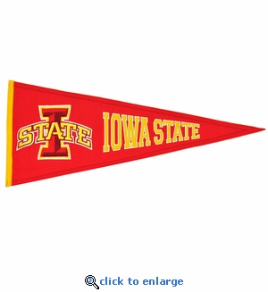 Iowa State Cyclones  Traditions Wool Pennant (13 X 32)