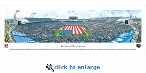 Jacksonville Jaguars - Opening Ceremony - Panoramic Photo (13.5 x 40)