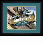 Jacksonville Jaguars Personalized Sports Room / Pub Print
