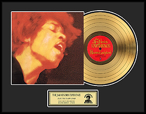 Jimi Hendrix - Electric Ladyland Framed Gold Record, LE 2,500