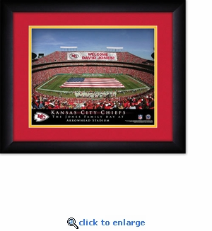Kansas City Chiefs Personalized Arrowhead Stadium Print