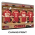 Kansas City Chiefs Personalized Locker Room Print