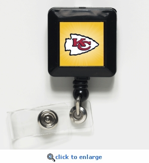 Kansas City Chiefs Retractable Ticket Badge Holder