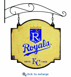 Kansas City Royals 16 X 16 Metal Tavern / Pub Sign