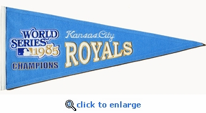 Kansas City Royals Cooperstown Wool Pennant (13 x 32)