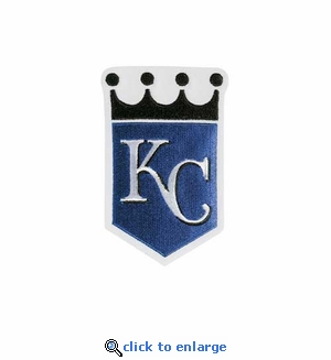 Kansas City Royals Embroidered Patch - Alternate