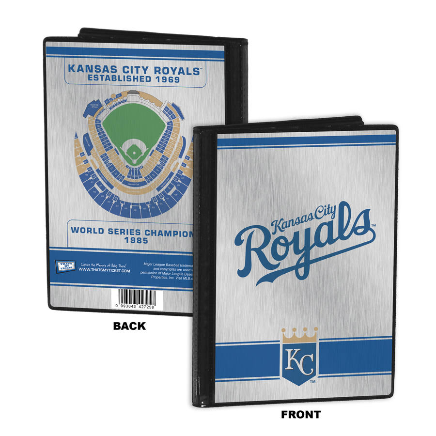 Kansas city royals personalized canvas birth announcement baby gift kansas city royals 4x6 mini photo album negle Choice Image